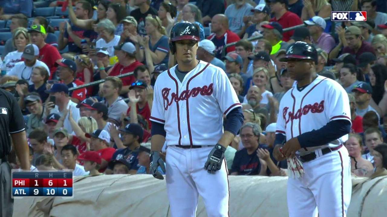 Braves light up Phillies early with big innings