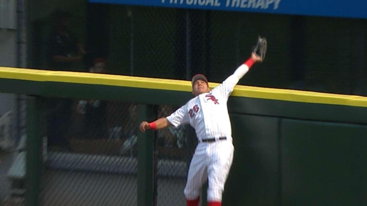 Must C: Garcia's insane catch
