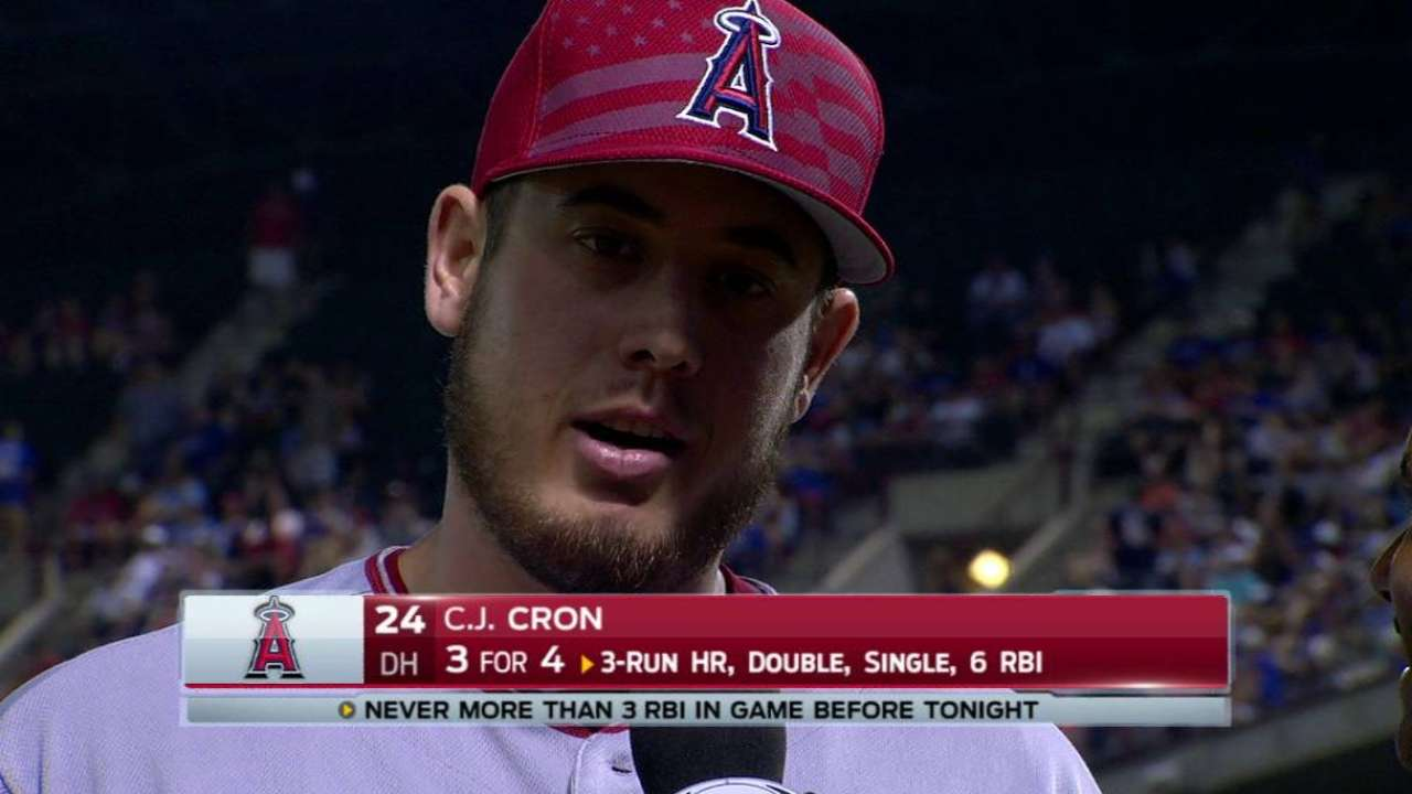 Cron on big day in win