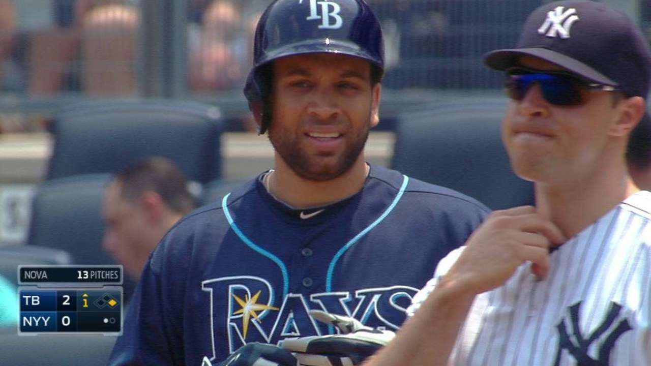Rays top Yankees to snap 7-game skid