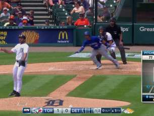 TOR@DET: Travis extends Blue Jays' lead with double