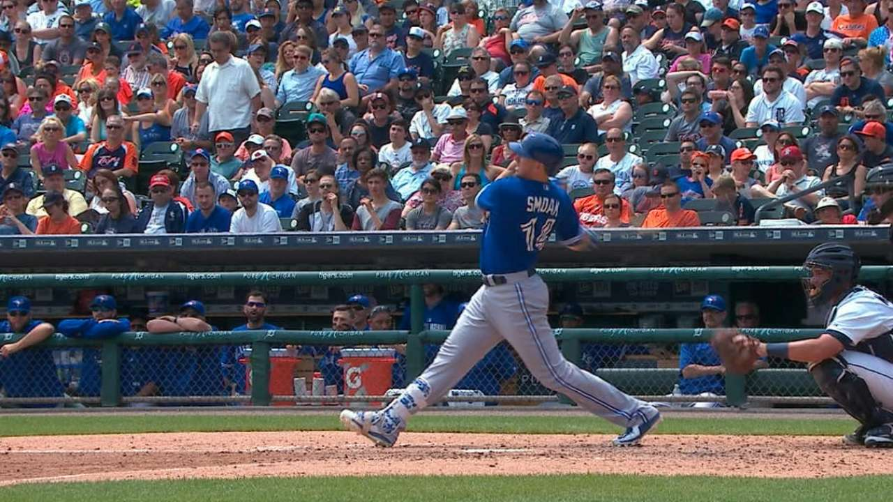 Big inning spurs Blue Jays over Tigers in finale