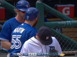 TOR@DET: Martin singles home another Blue Jays run