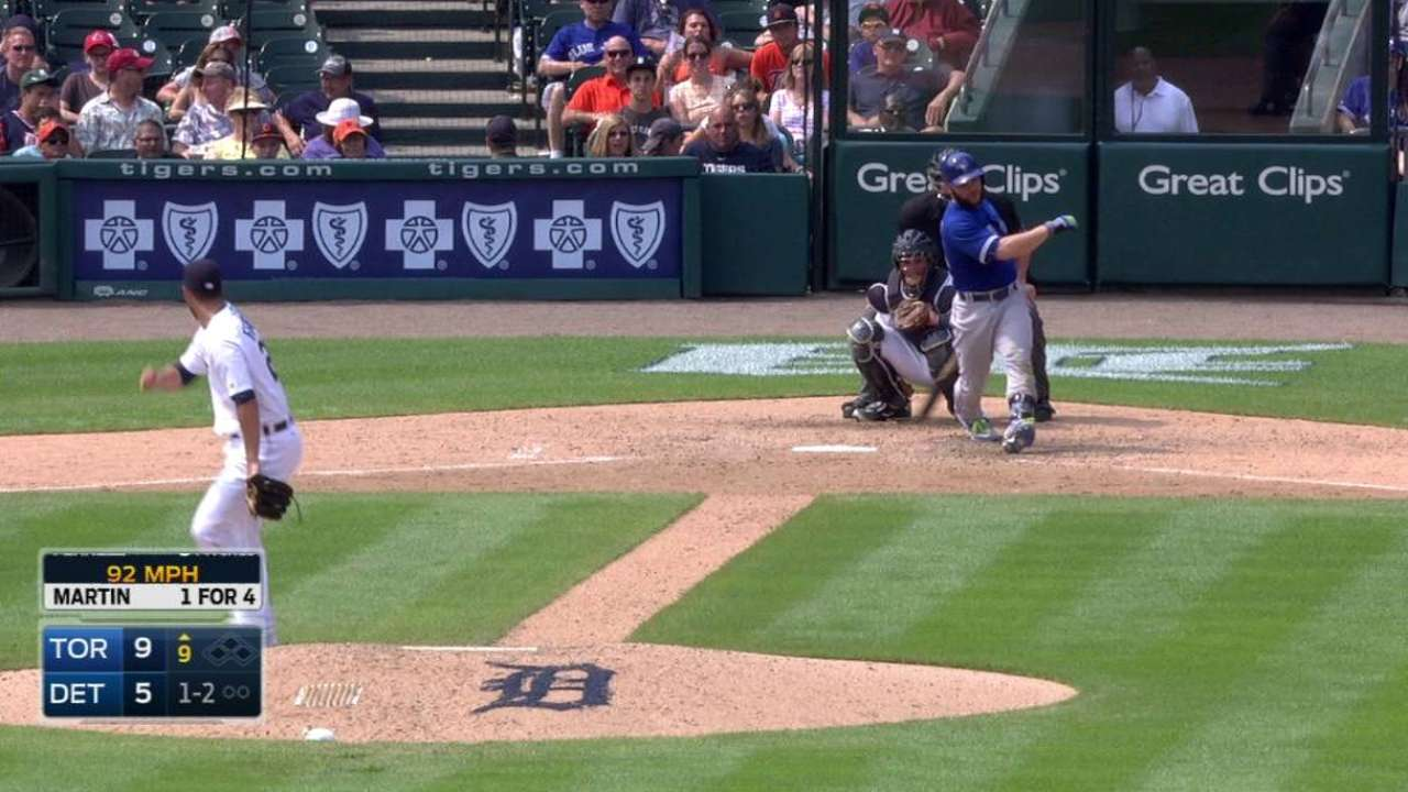 Ferrell's first career strikeout