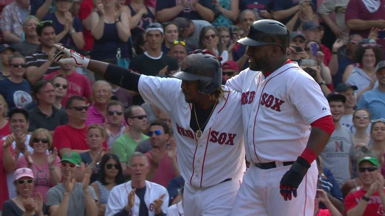 Hanley's go-ahead HR lifts Sox over Astros