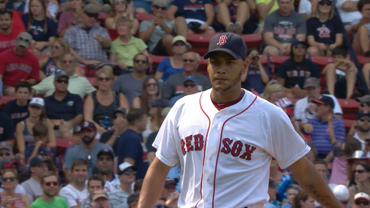 Rodriguez's eight strikeouts
