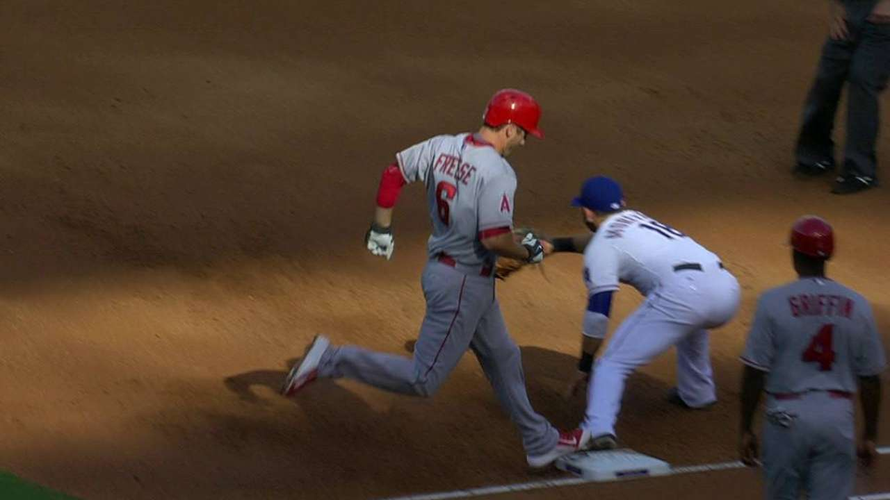 Lewis induces double play
