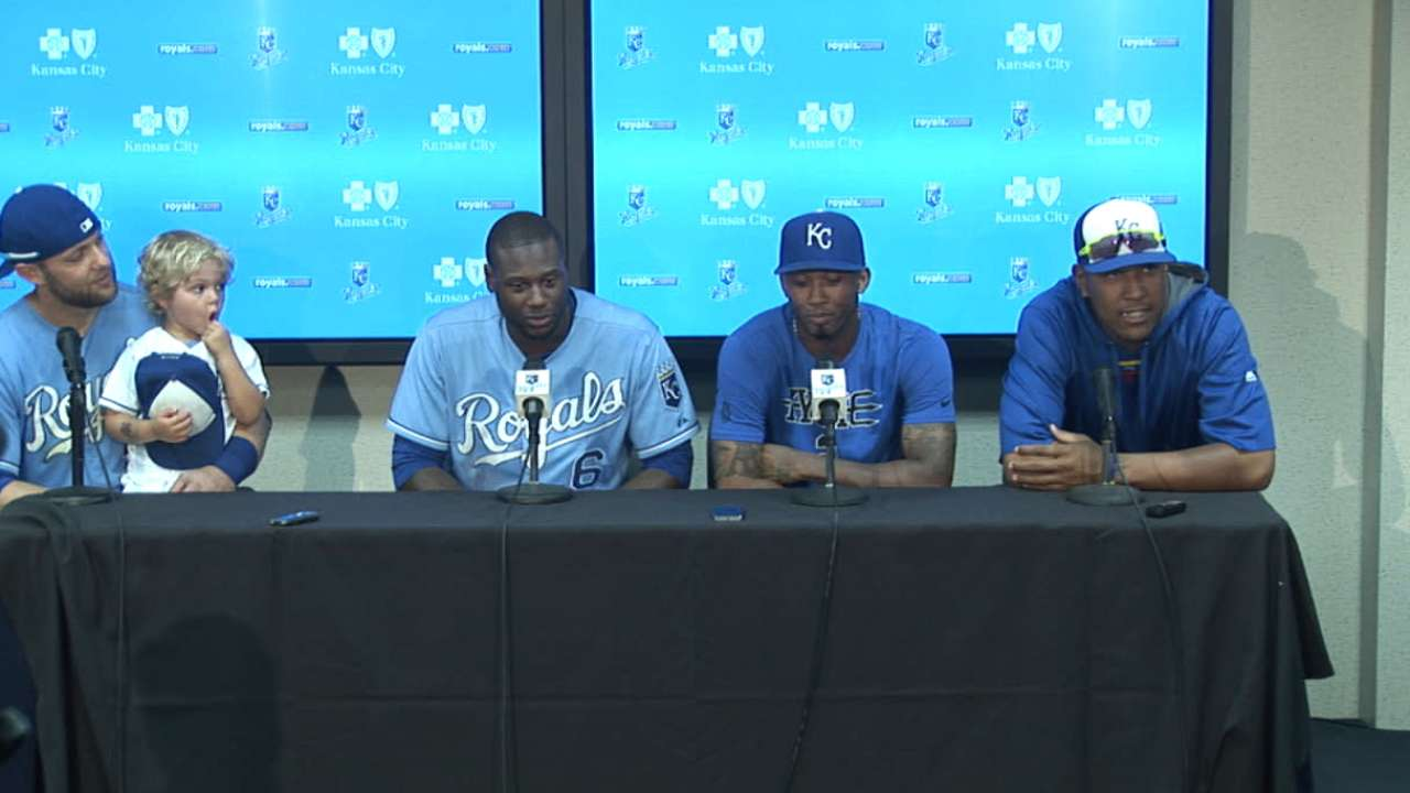Royals on starting the ASG