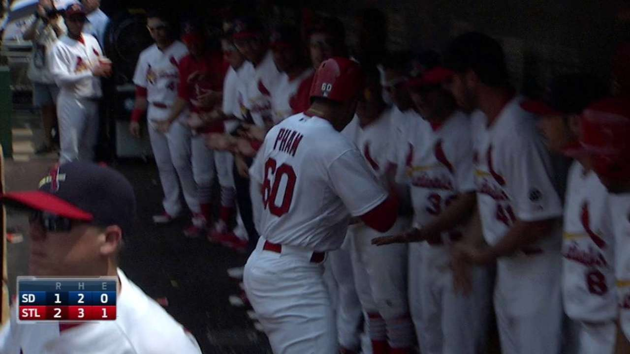 Lynn and Pham lead Cardinals over Padres