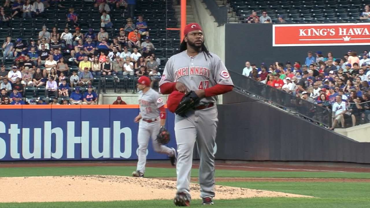 Cueto named All-Star Final Vote candidate