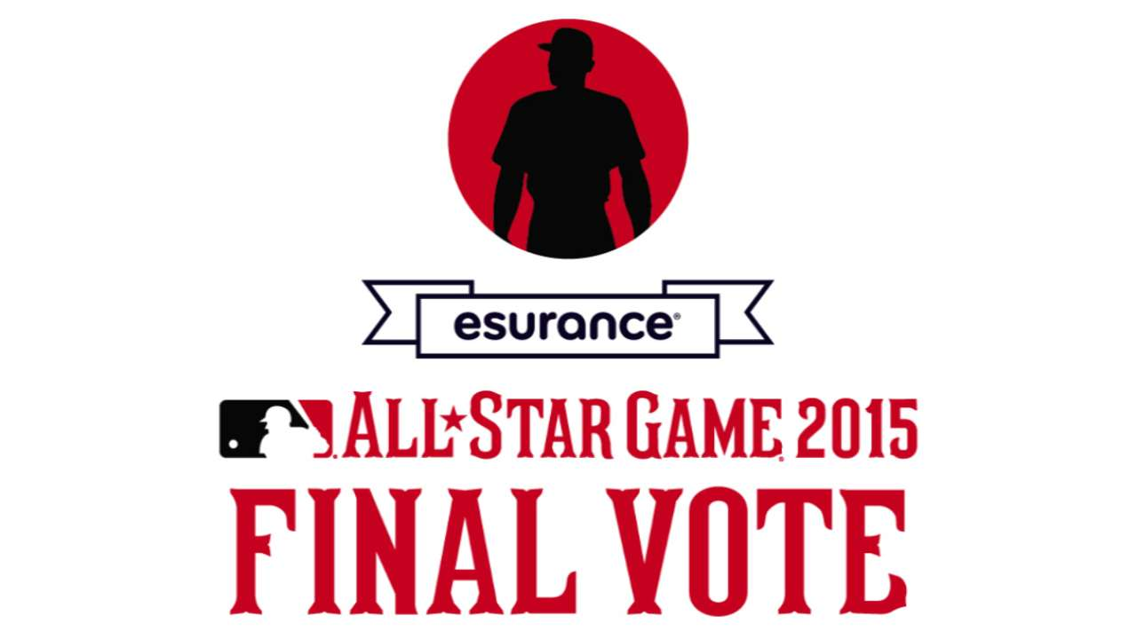 Big names in 2015 NL Final Vote