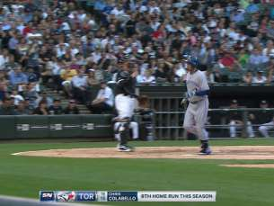 TOR@CWS: Colabello hits a solo dinger to center