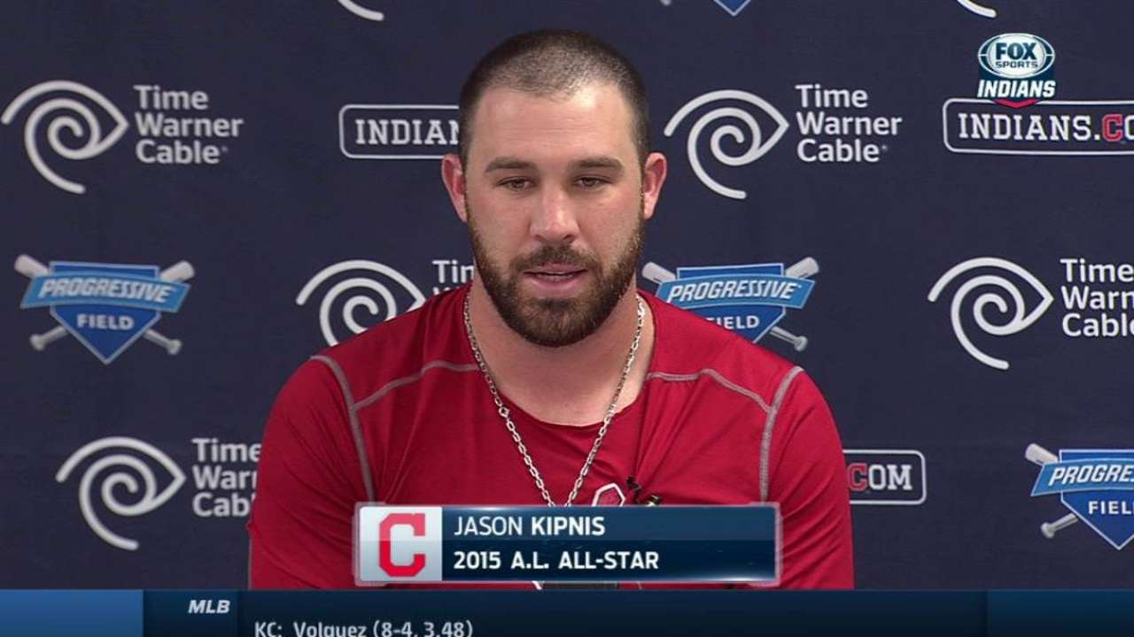 Kipnis named an All-Star for second time