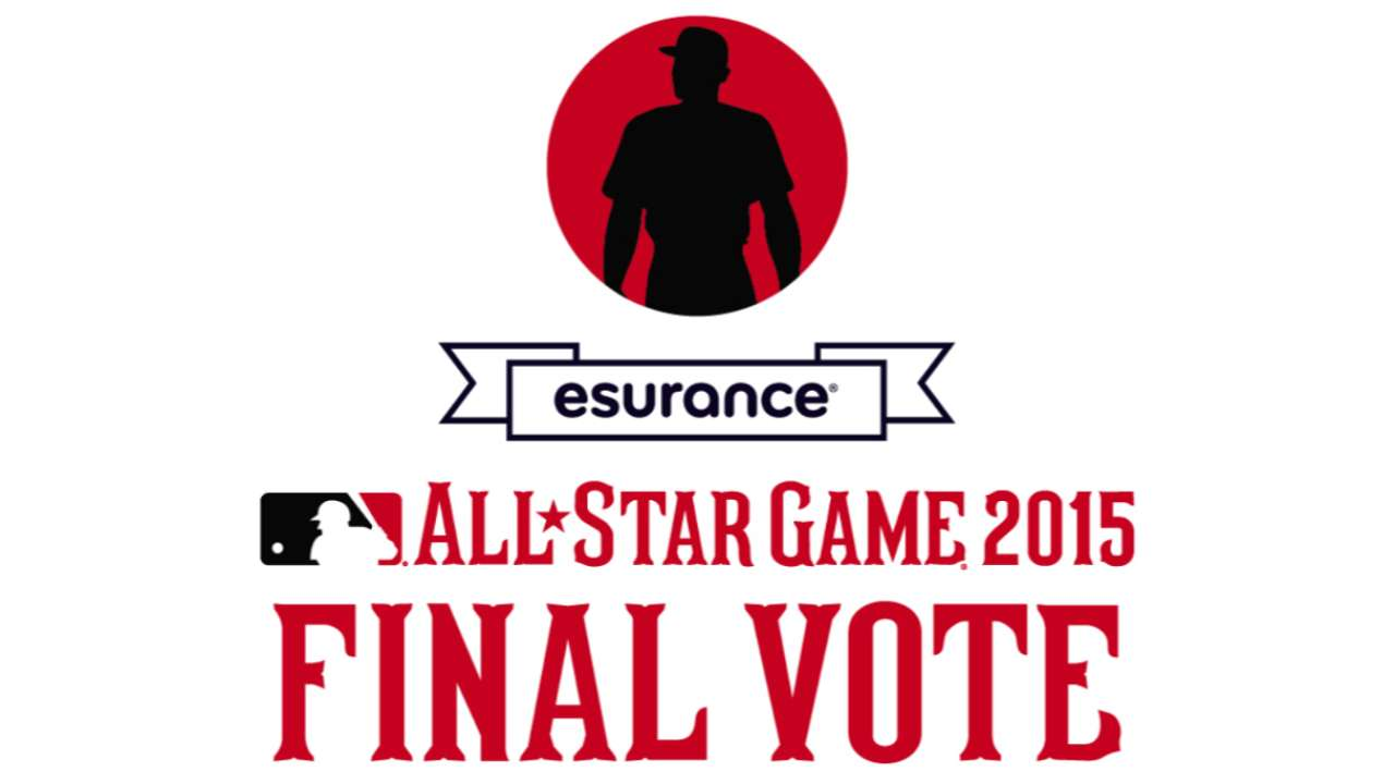 Final Vote underway for last AL, NL spots