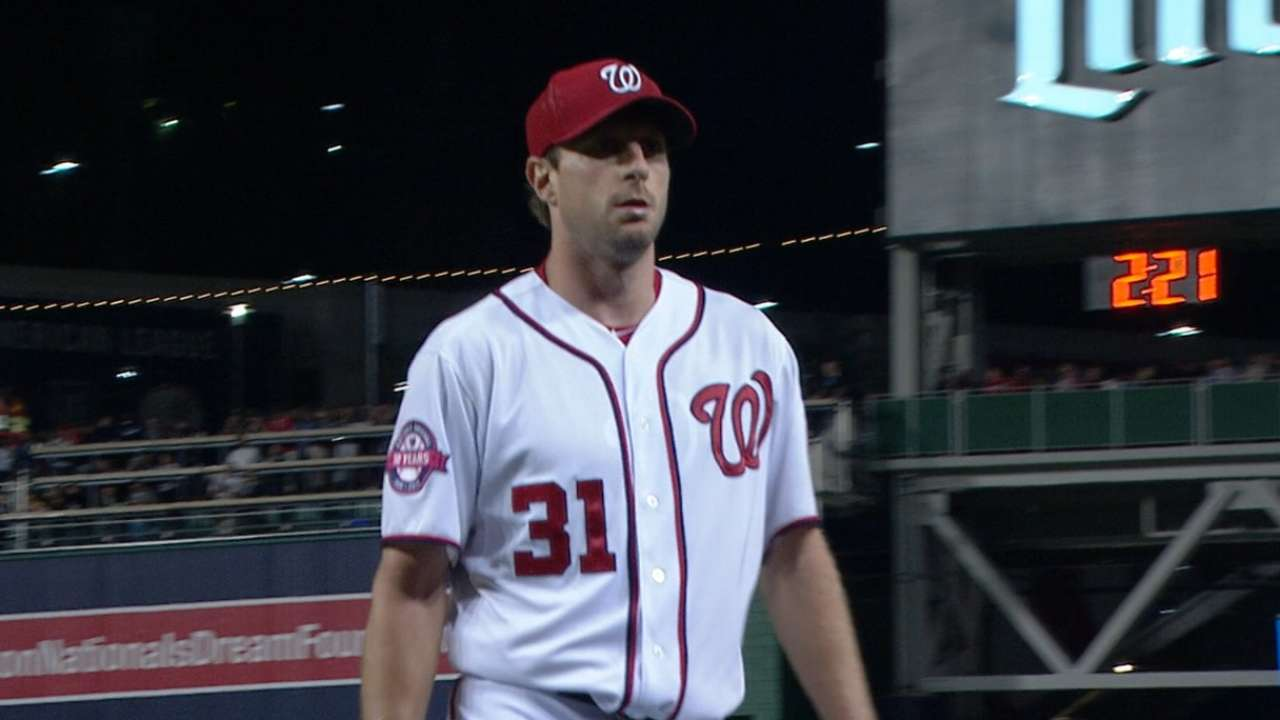 Scherzer selected to 3rd ASG, 1st with Nats
