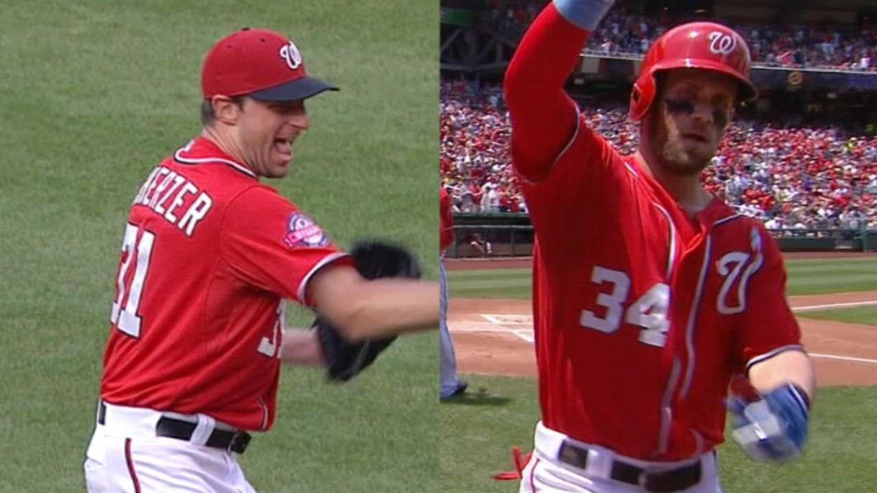 Nats net two All-Stars in 2015