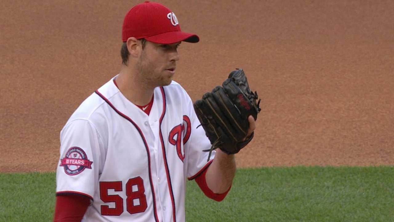 Fister's solid start
