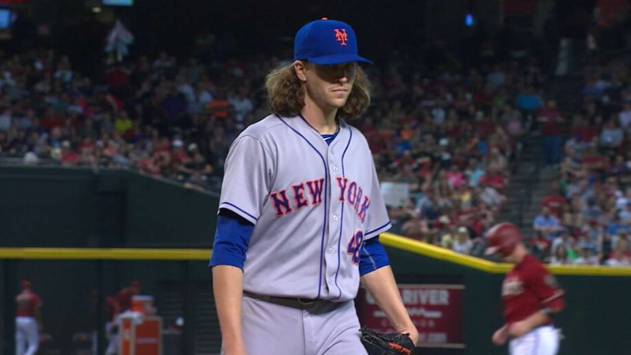 deGrom a first-time All-Star