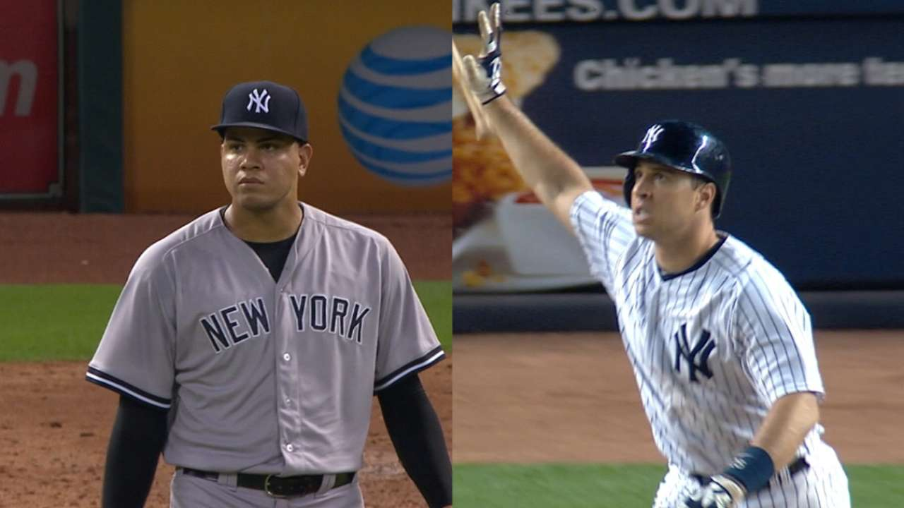 Teixeira, Betances named to AL All-Star team