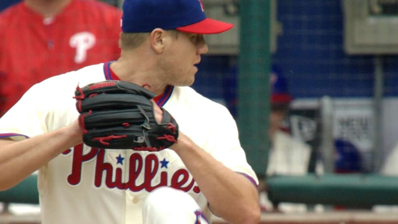Papelbon named to NL All-Star pitching staff