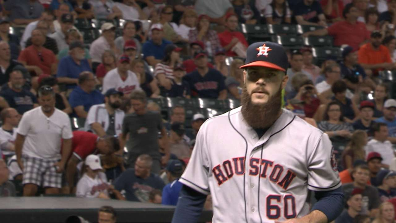 Keuchel earns AL-best 11th win