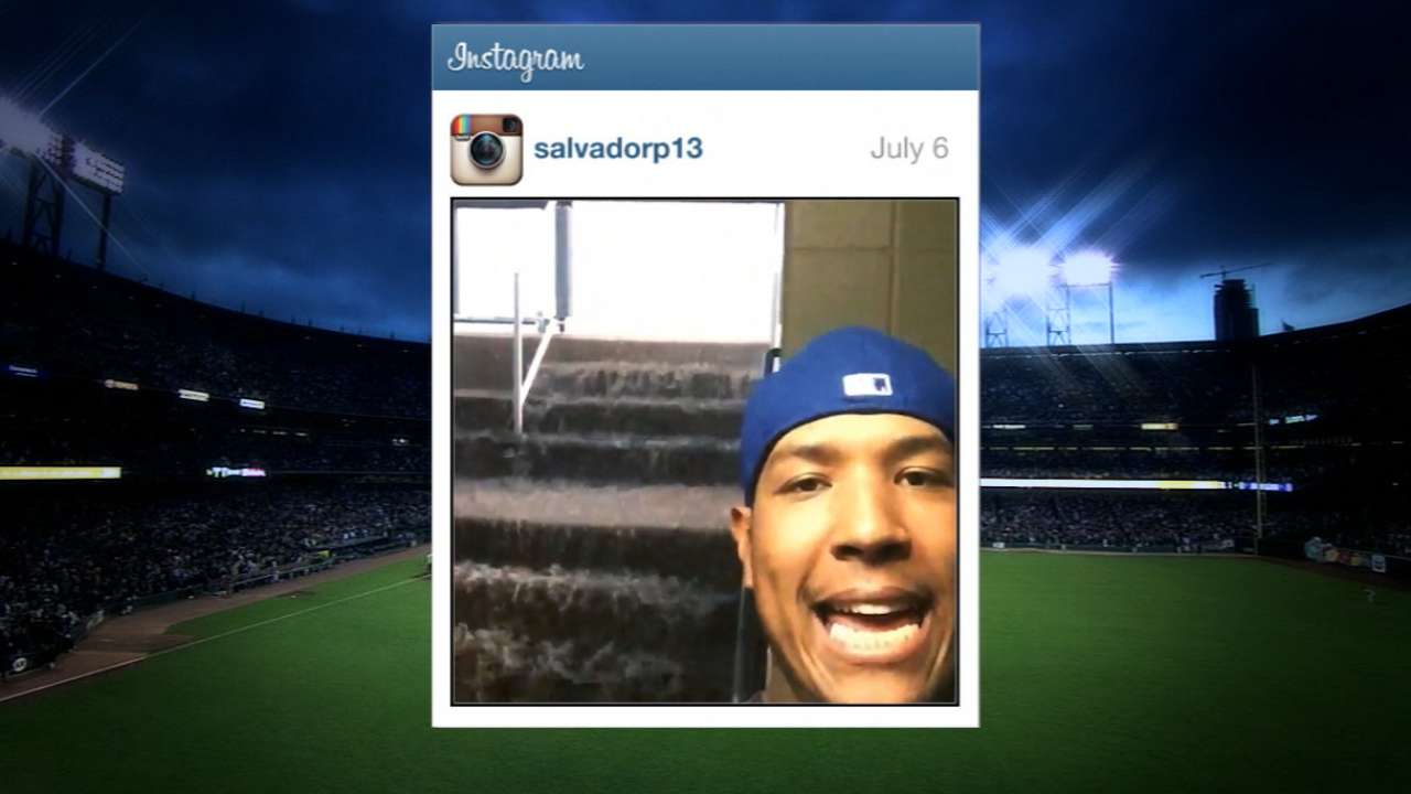 Rays-Royals game rained out; fans evacuated