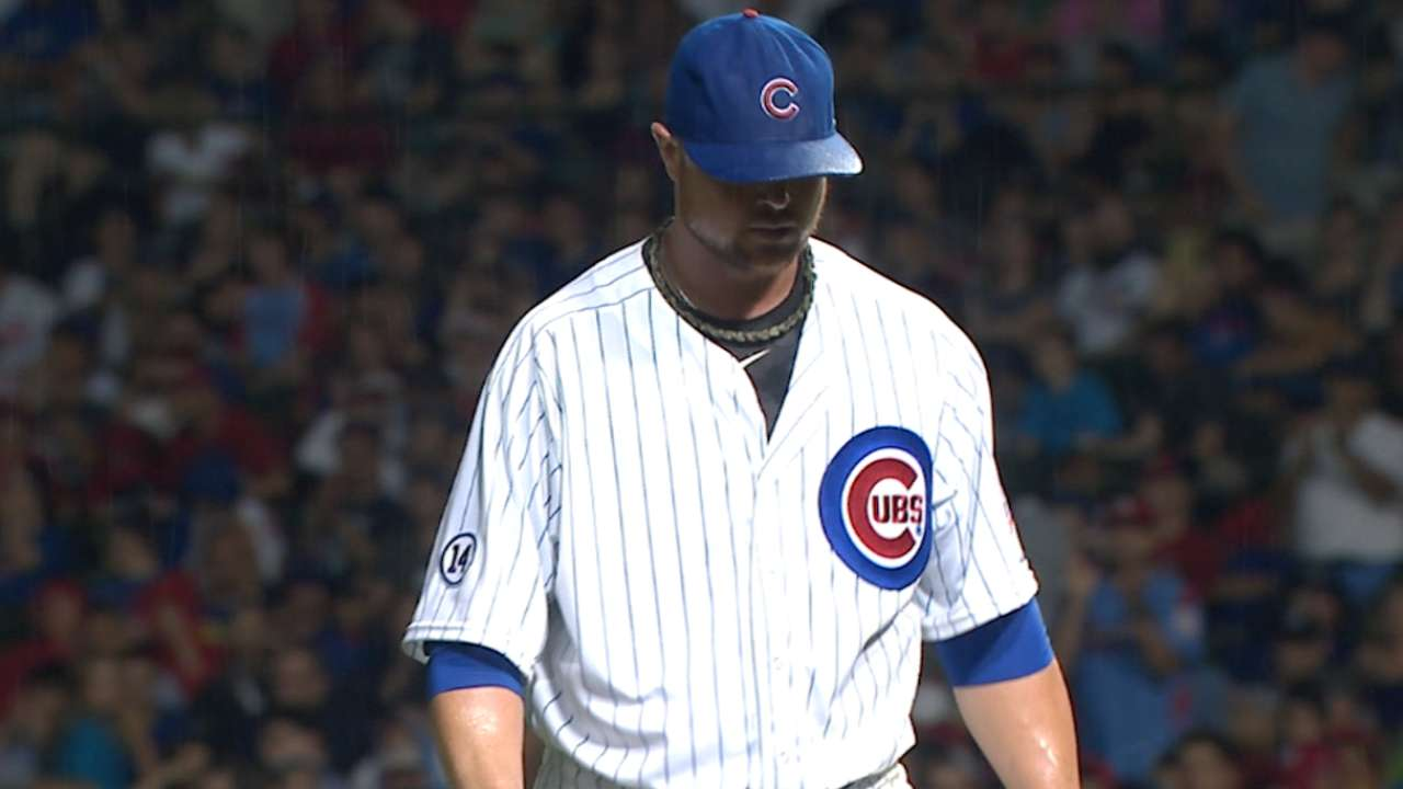 Lester flirts with no-no in loss