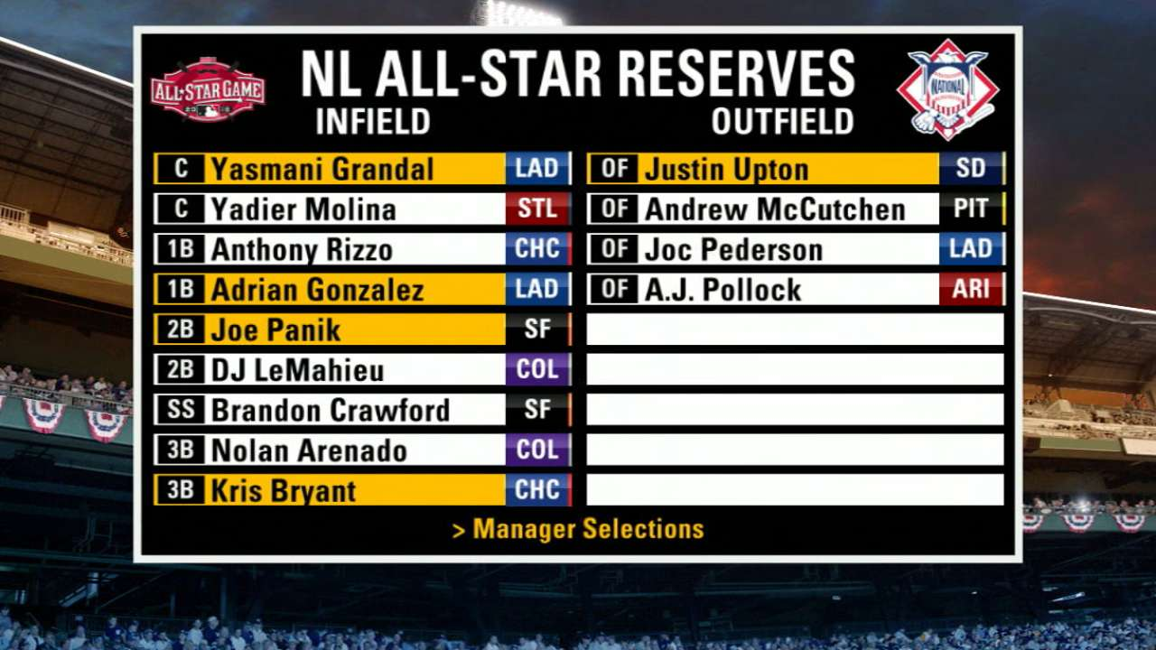 NL position reserves announced