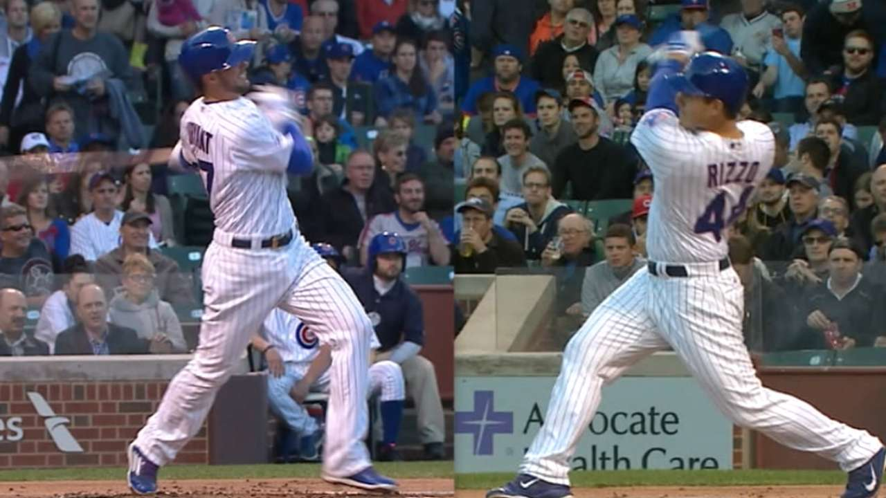 Bryant, Rizzo earn ASG spots