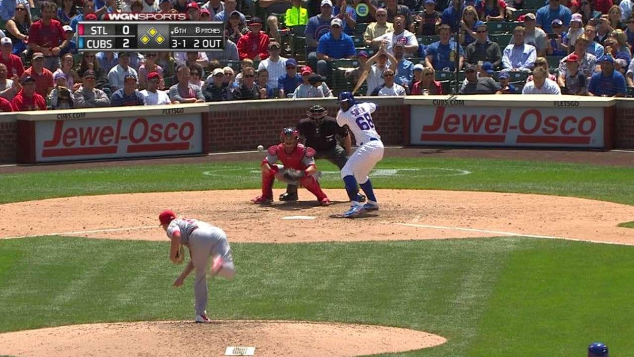 Soler's bases-loaded walk