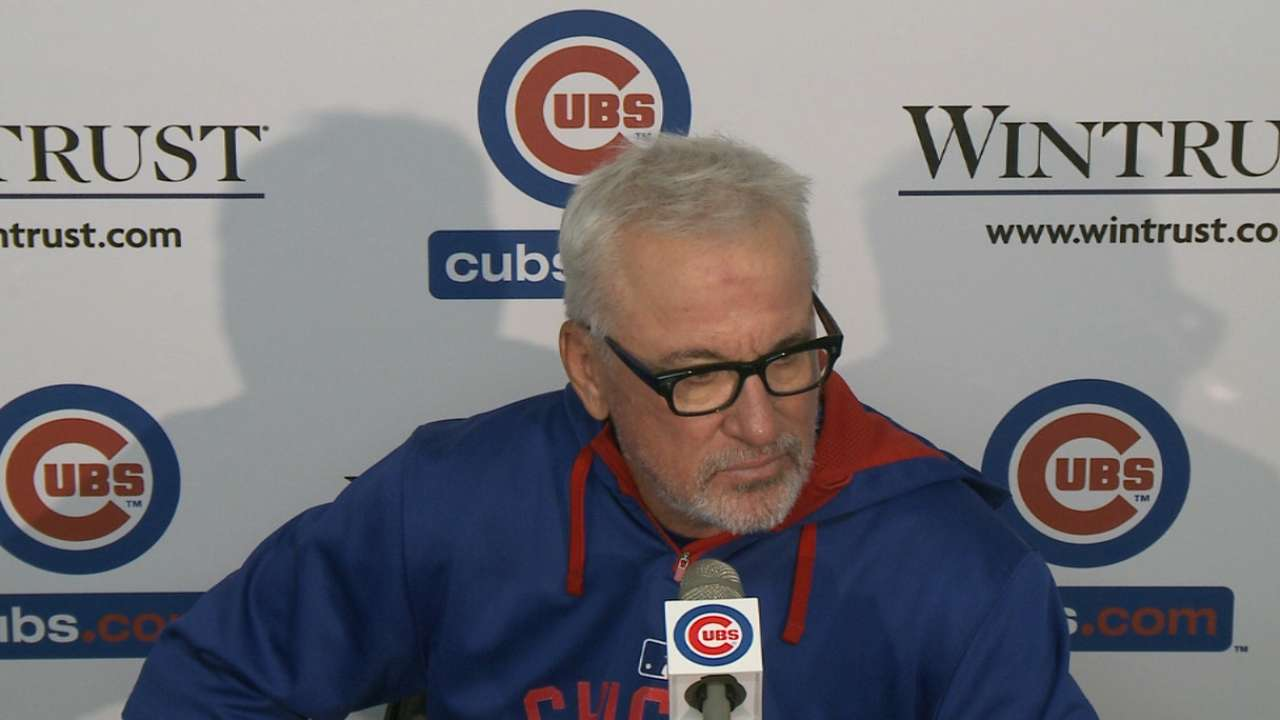 Maddon on Arrieta's outing, win