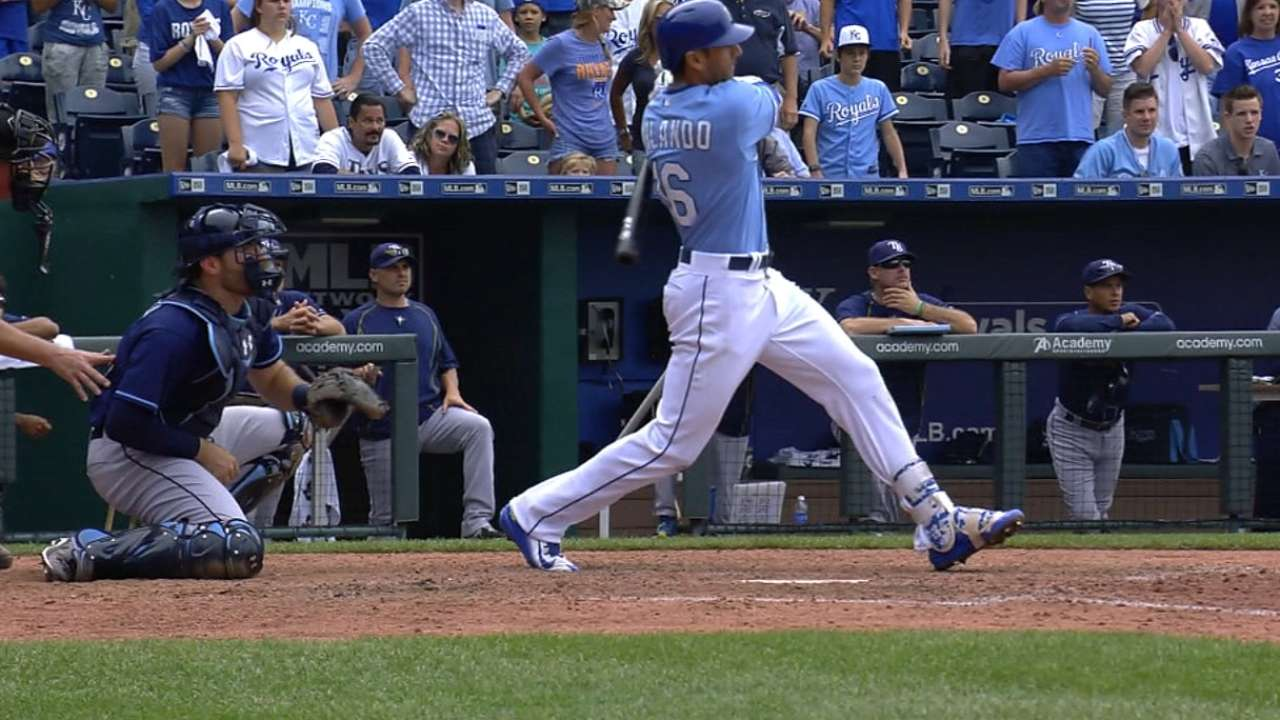 Orlando answers call with first grand slam