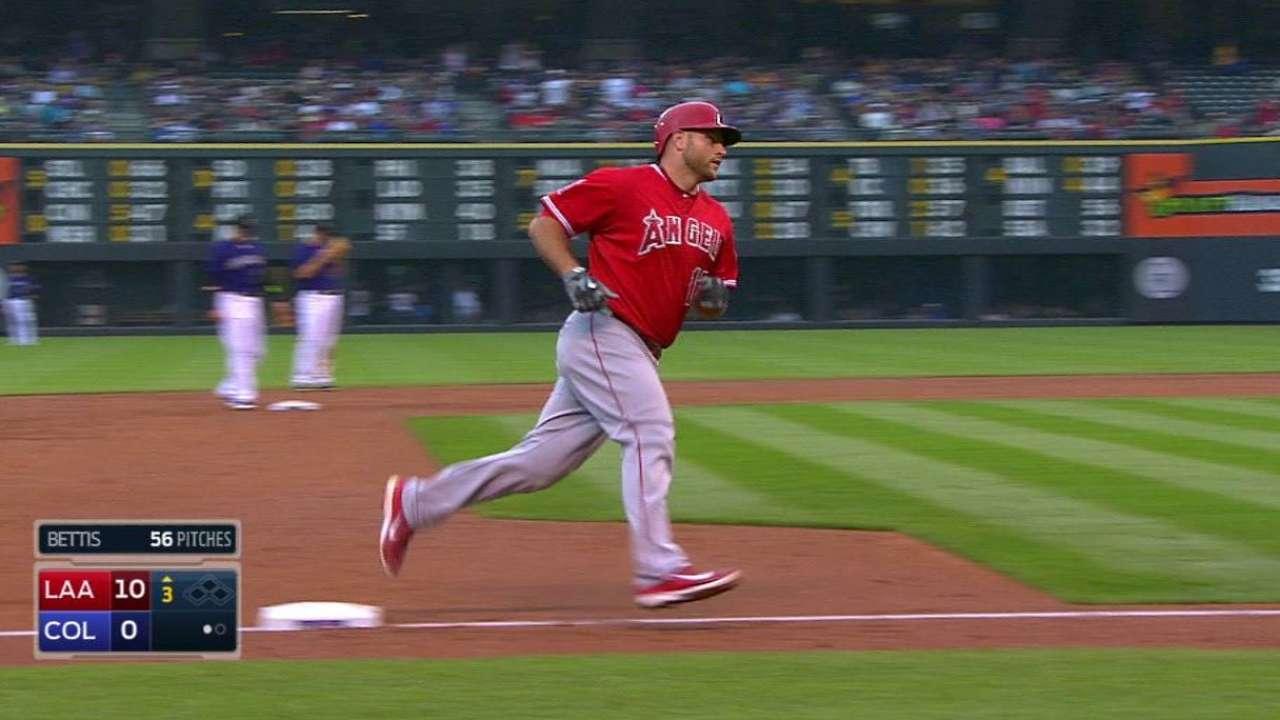 Iannetta's two-run home run