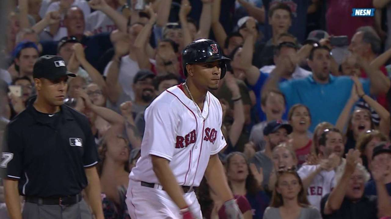 Bogaerts' go-ahead single