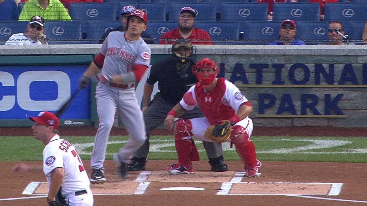 Reds maximize production off daunting ace