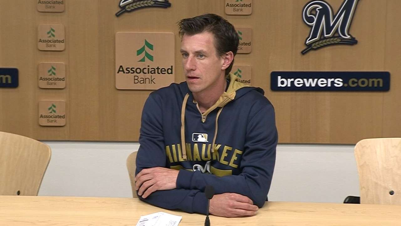 Counsell on loss to Braves