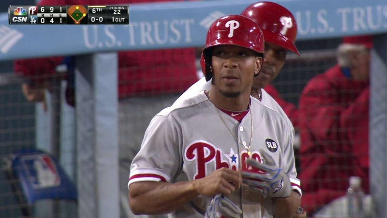 Revere showing younger Phillies consistency