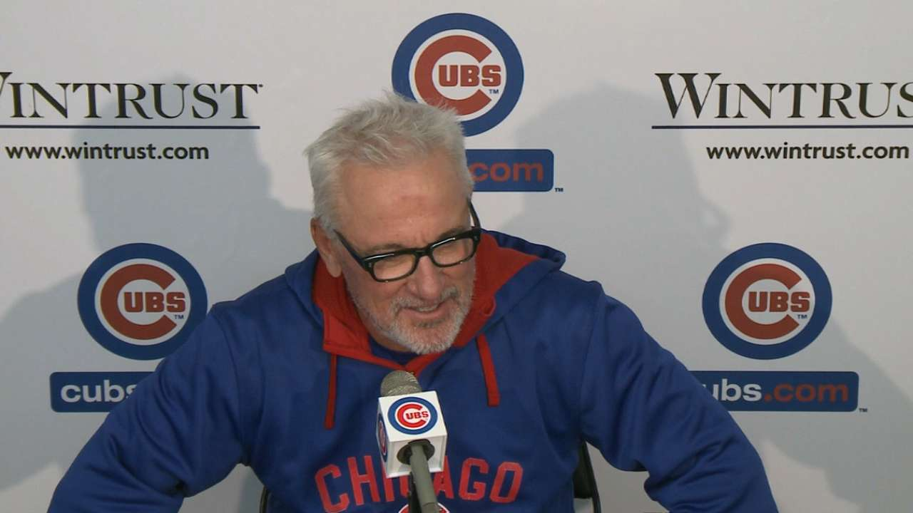 Maddon plans to repeat 'methods' during break