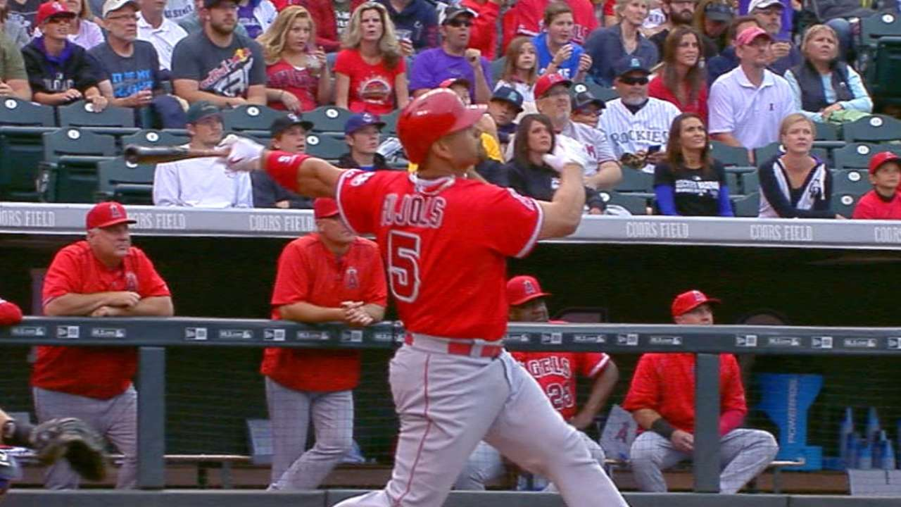Angels' offensive onslaught continues