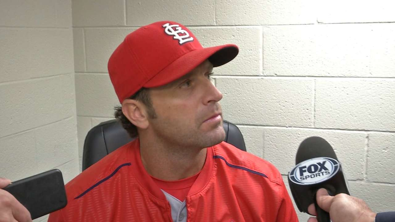 matheny single guys The giants made mike matheny a financial offer he couldn't (a double off mark mulder and a single off jason isringhausen) the guys are excited to see him.