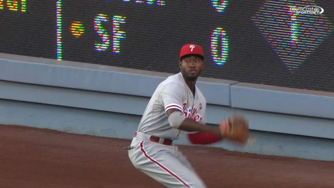Phillies want results quickly from Brown