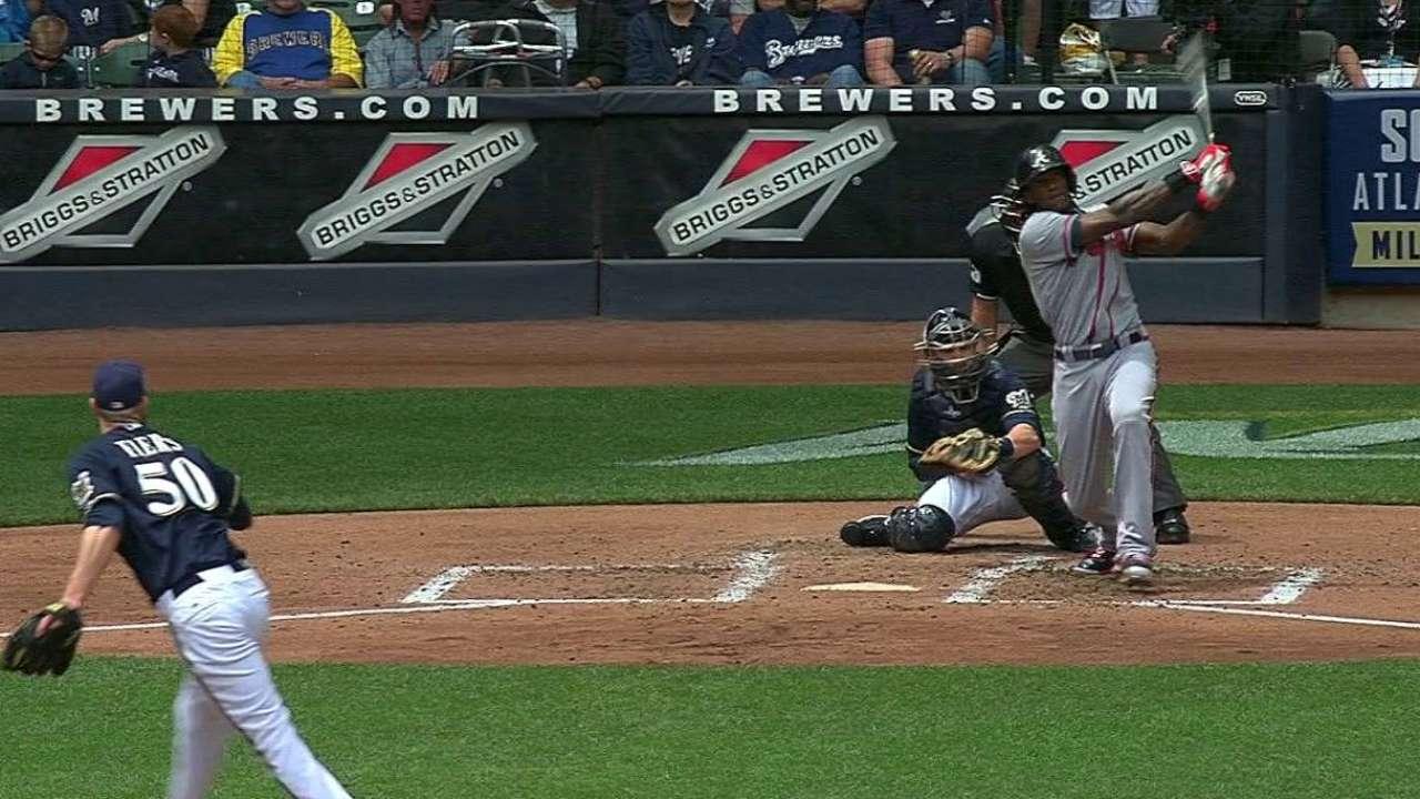 Maybin's three-run homer