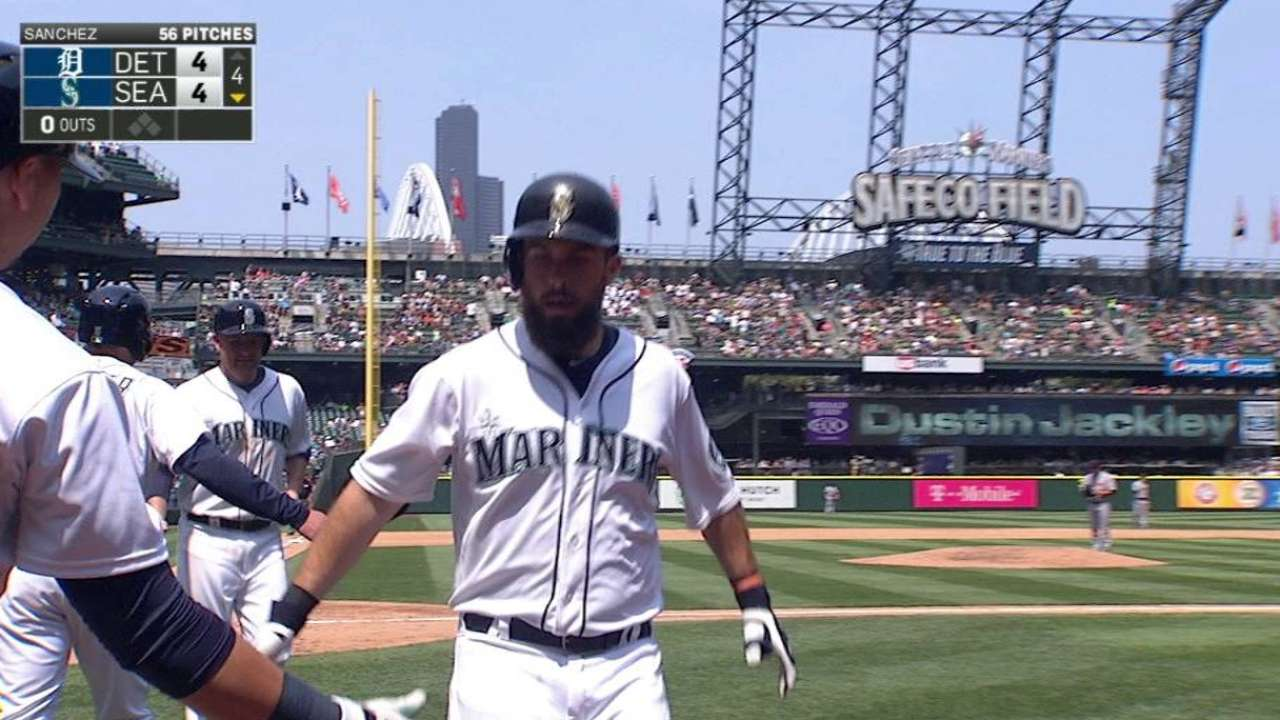 Ackley's two-run dinger