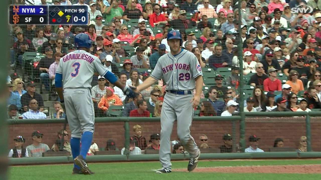 Mets cruise past Giants on deGrom's gem