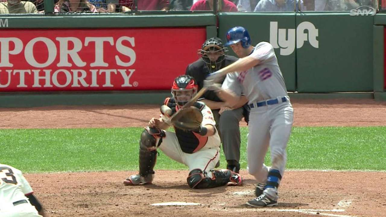 Campbell's two-run homer