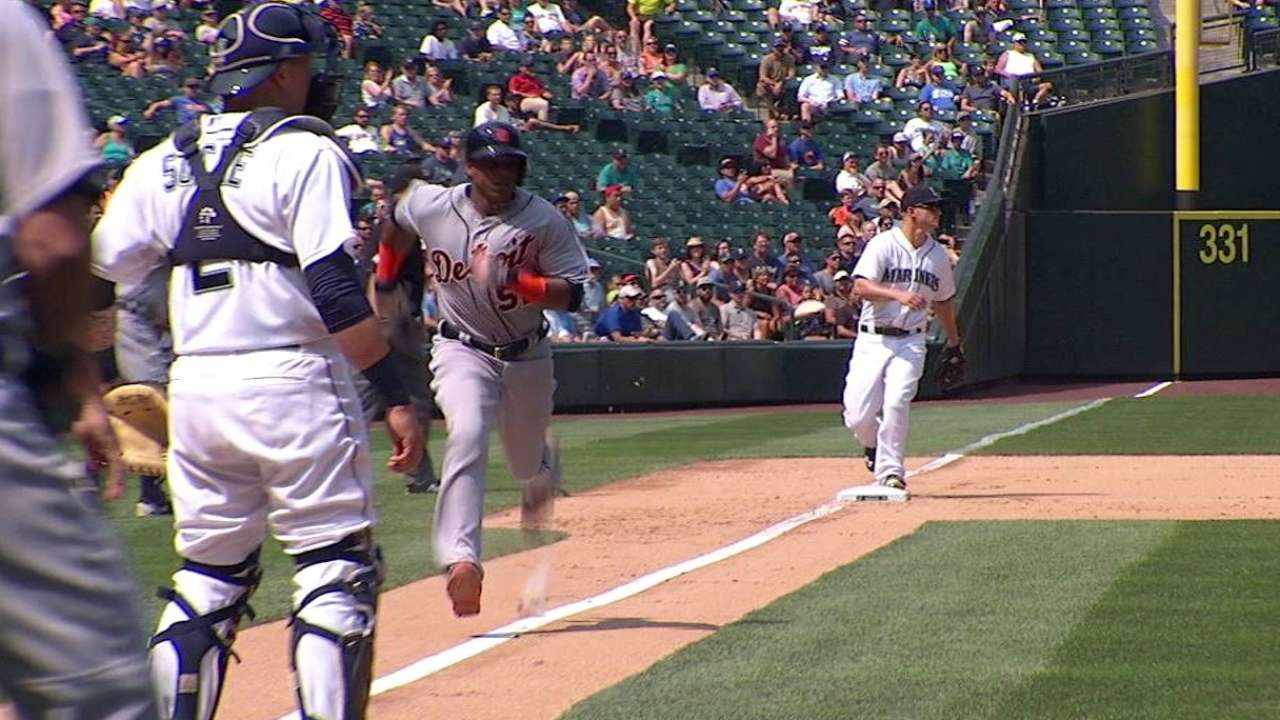 Tigers hold off Mariners as Marte breaks out