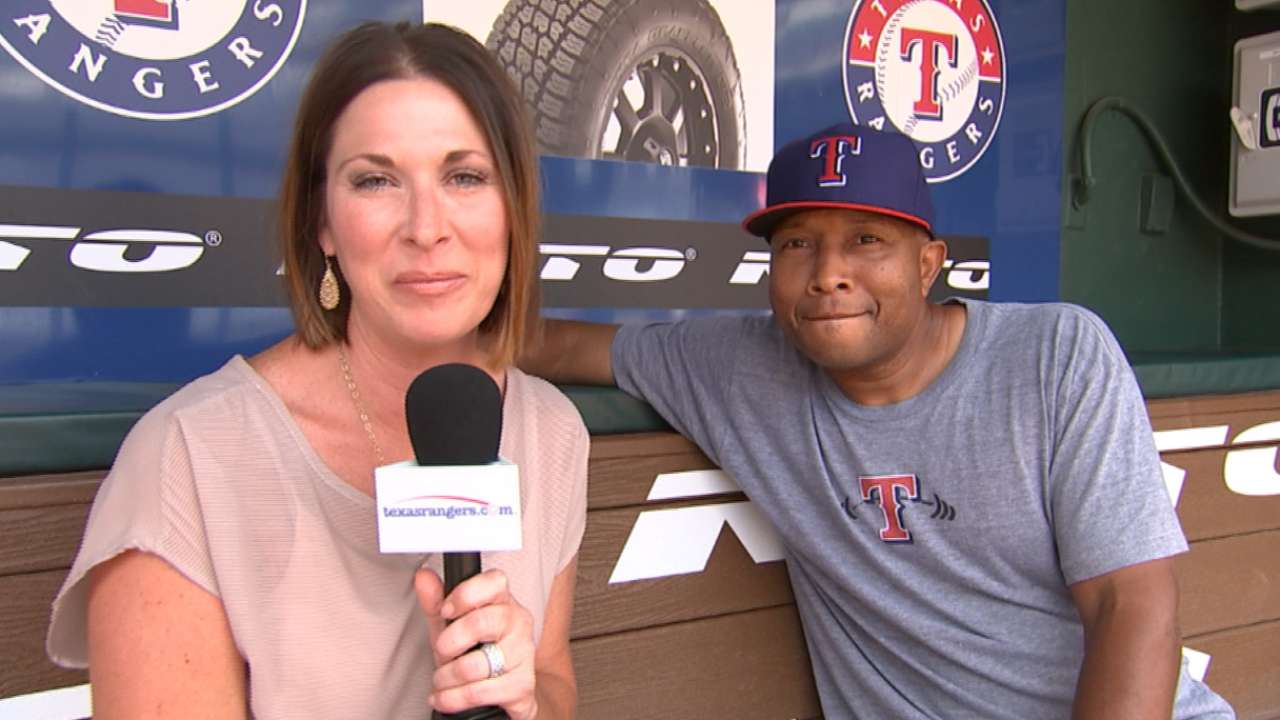 Rangers example of African-Americans' rise in baseball
