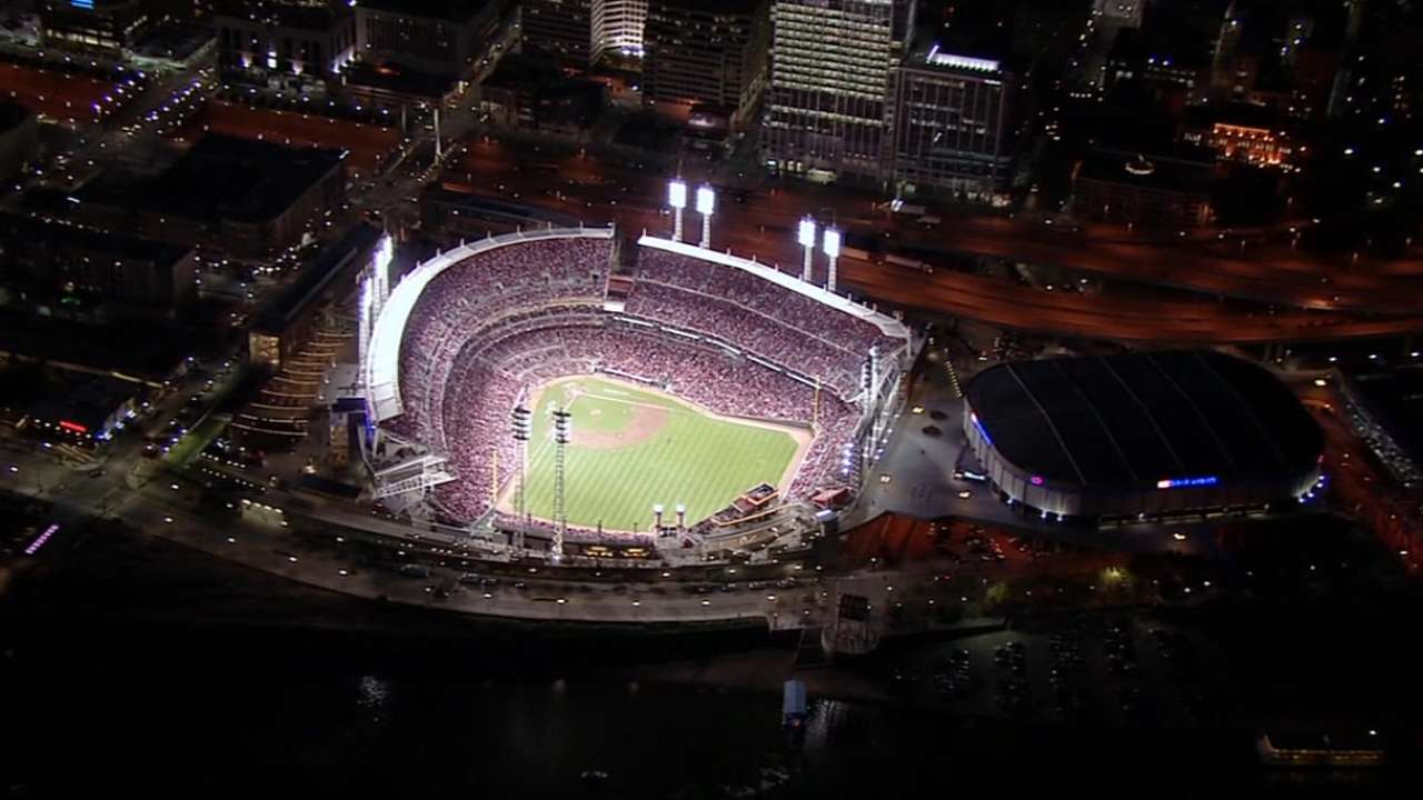 Great American Ball Park ready for primetime
