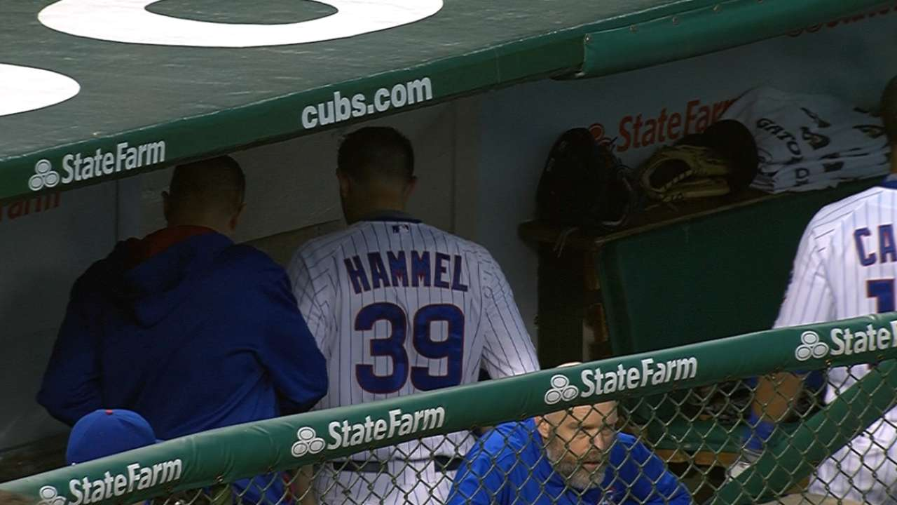 Hammel ready to go after successful side session