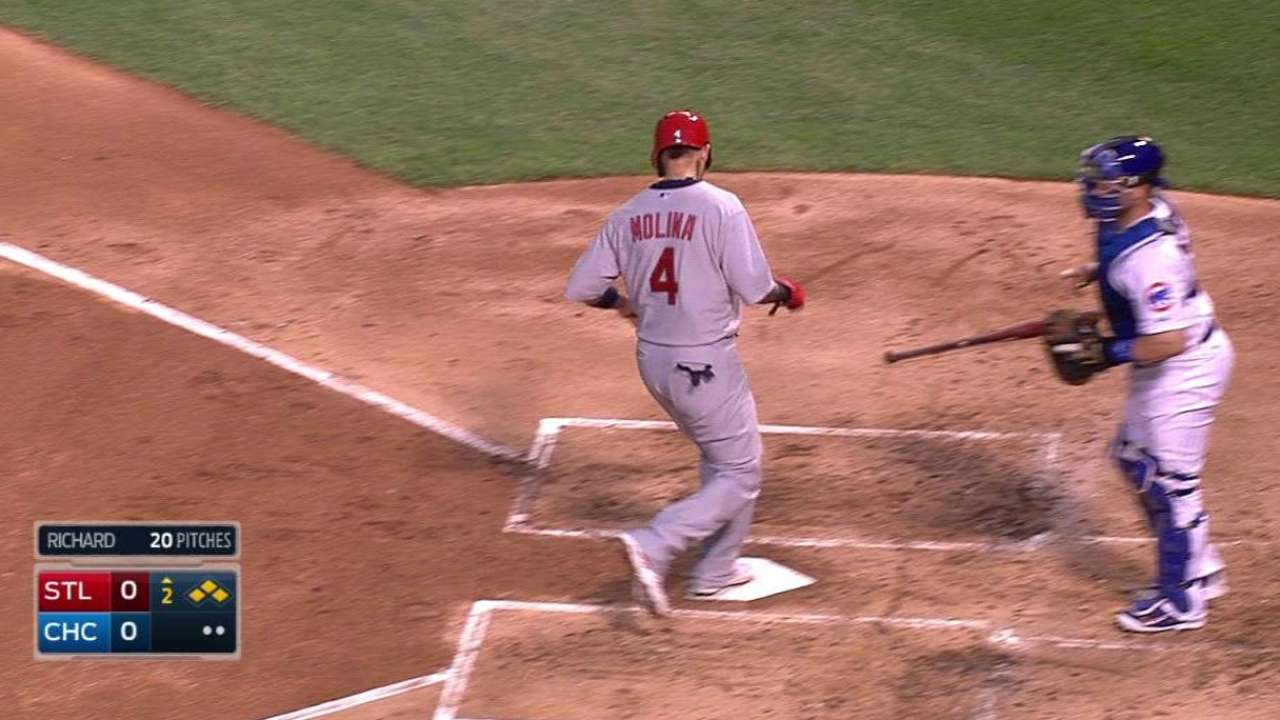 Cards call up Johnson, but Piscotty lurking